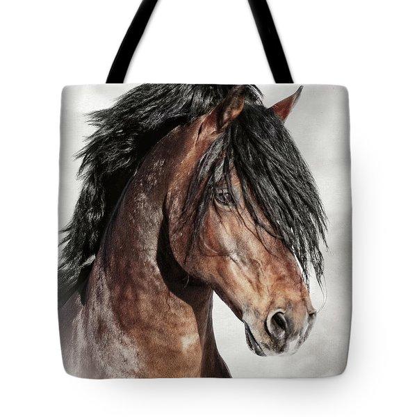 Welsh Cob Portrait Tote Bag