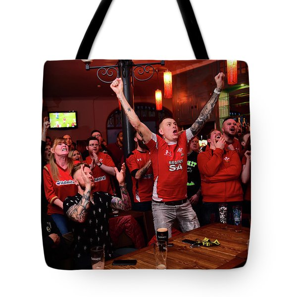 Welsh Rugby Fans Tote Bag