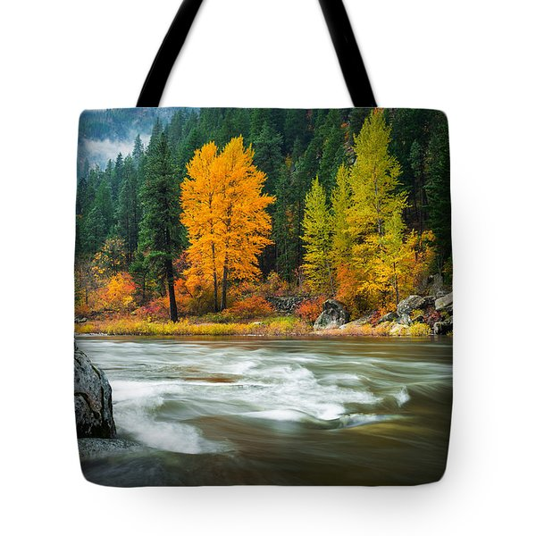 Wenatchee Riverside Tote Bag