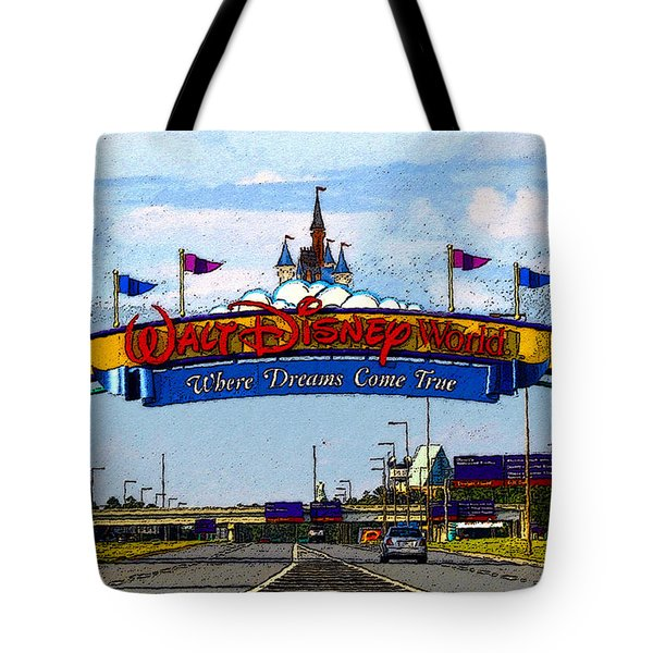 Were Dreams Come True Tote Bag