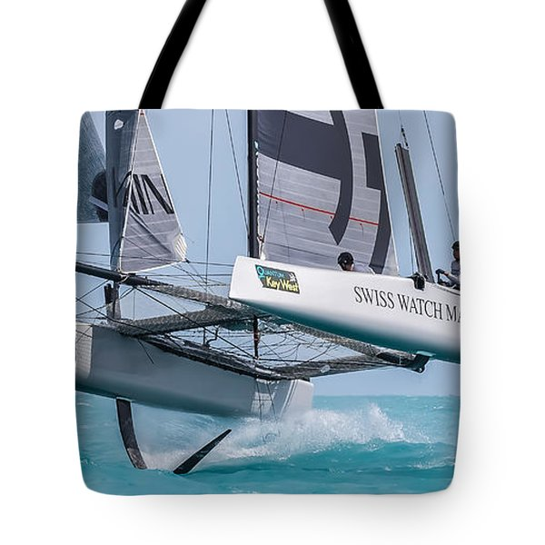 We're Flying Now Tote Bag