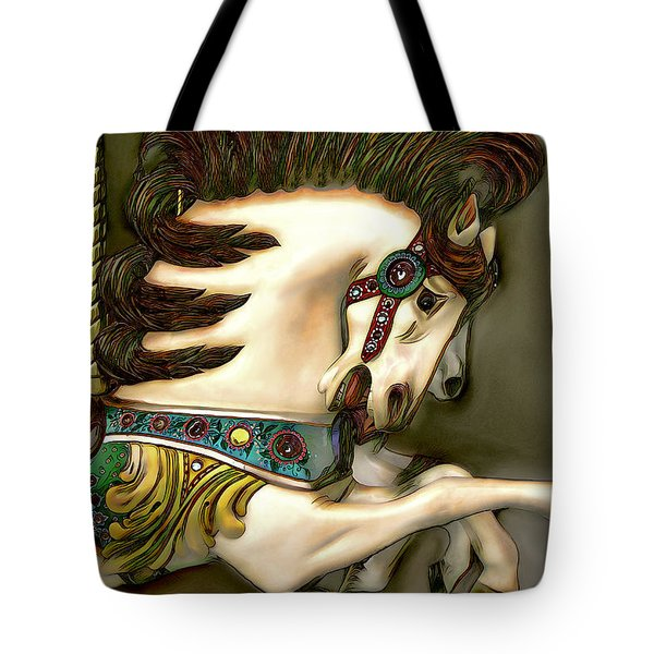 Tote Bag featuring the digital art We're Free by Pennie McCracken
