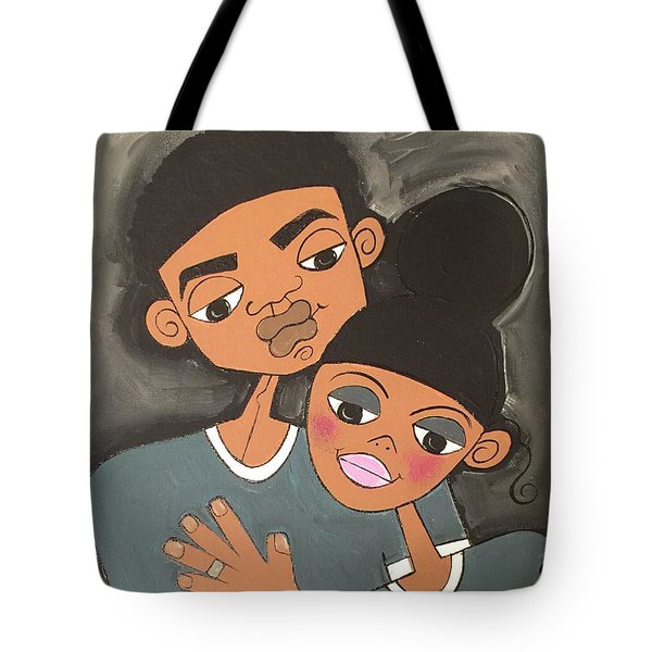 We're Getting Married Tote Bag