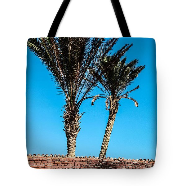 Tote Bag featuring the photograph We're Staying Here  by Jez C Self