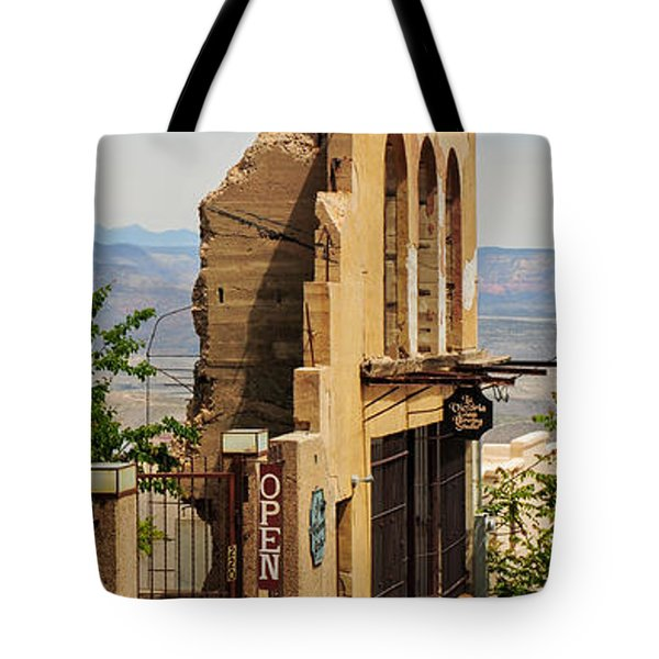 We're Still Here Tote Bag by Kate Livingston