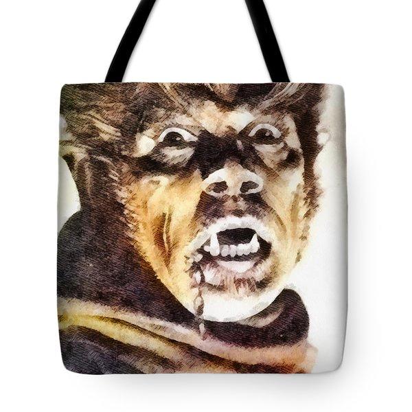 Werewolf Of London 1935, Vintage Horror Tote Bag