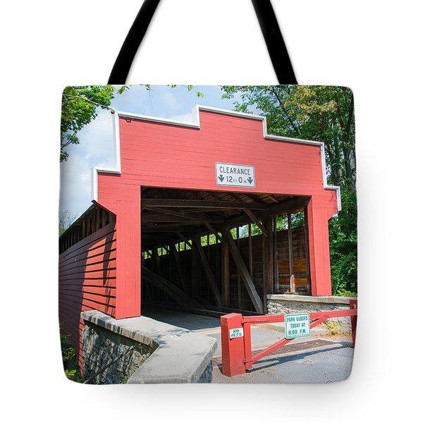 Wertz Covered Bridge Tote Bag