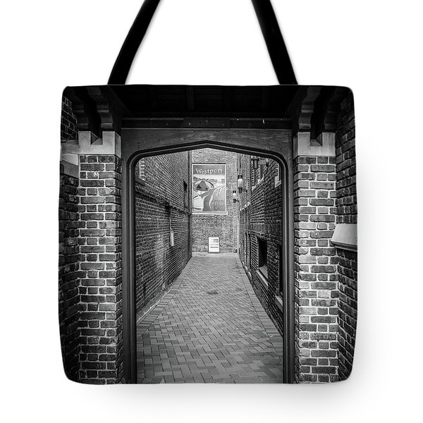 Tote Bag featuring the photograph Wesport Arch by Michael Hope
