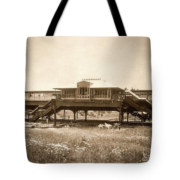 West 207th Street, 1906 Tote Bag by Cole Thompson