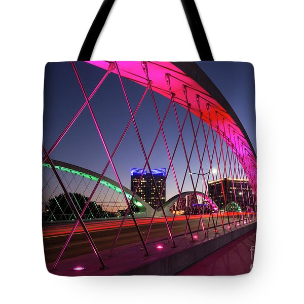 West 7th Street Bridge Tote Bag