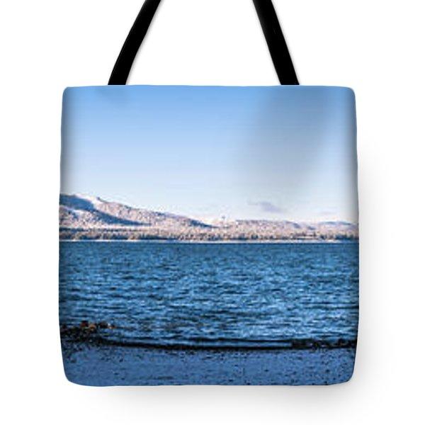 West Almanor Blue Tote Bag