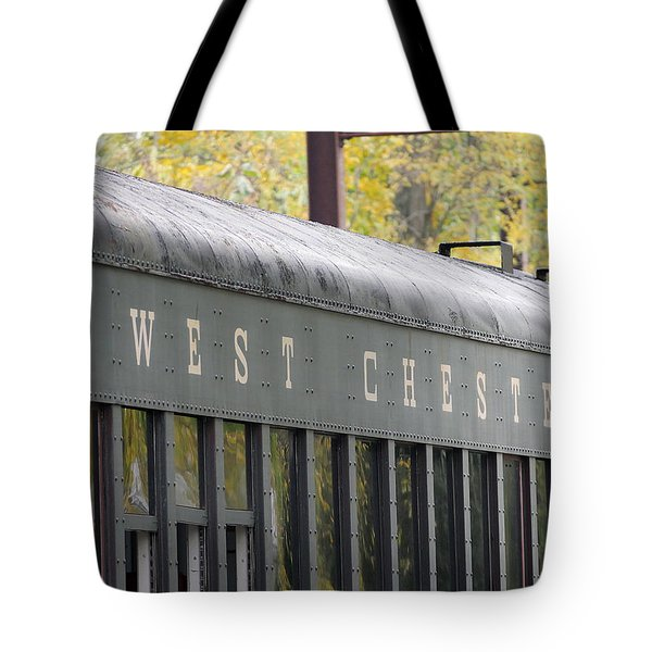 West Chester Railroad - Passenger Car Tote Bag