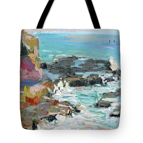 West Cliff Heat Tote Bag