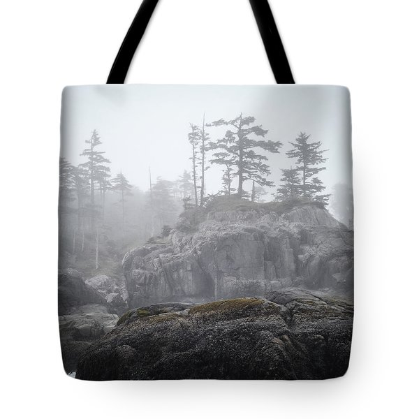 West Coast Landscape Ocean Fog IIi Tote Bag