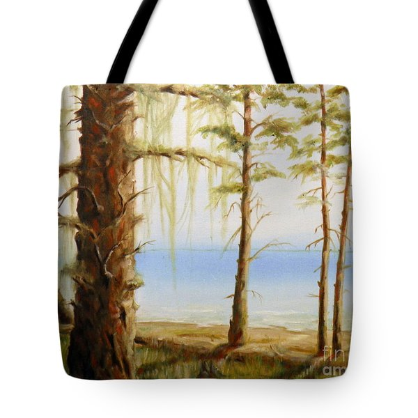 West Coast View Tote Bag