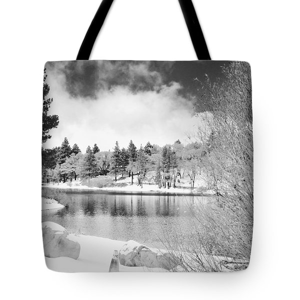 West Coast Winter Tote Bag