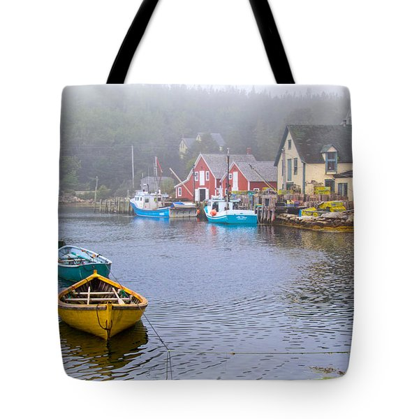 West Dover Harbour Tote Bag