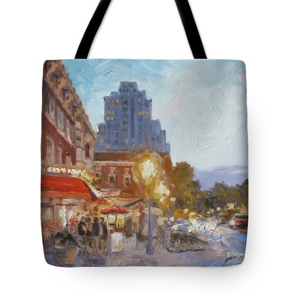 West End Evening - St.louis Tote Bag