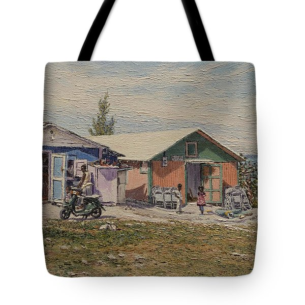 West End - Russell Island Tote Bag