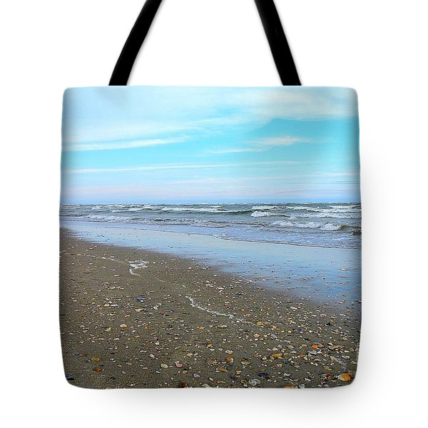 West End Seashells Tote Bag