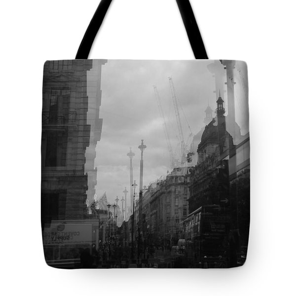 West End Tremors Tote Bag