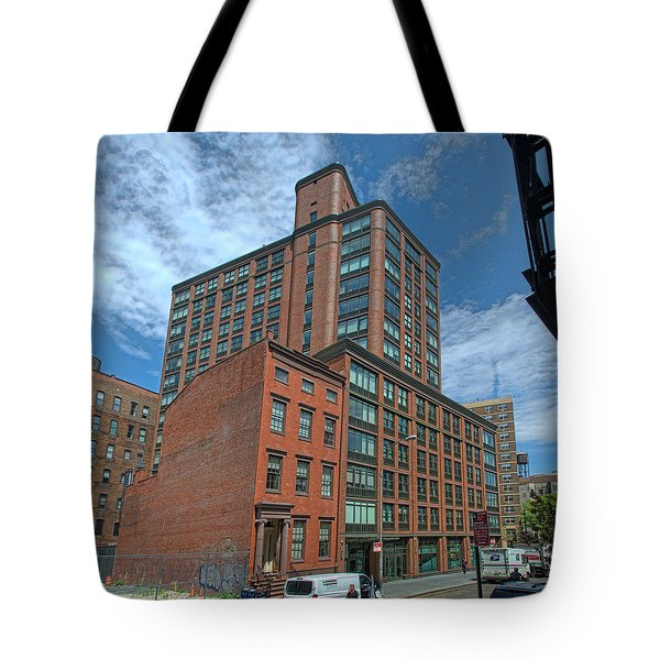 Tote Bag featuring the photograph West Facade May 2016 by Steve Sahm