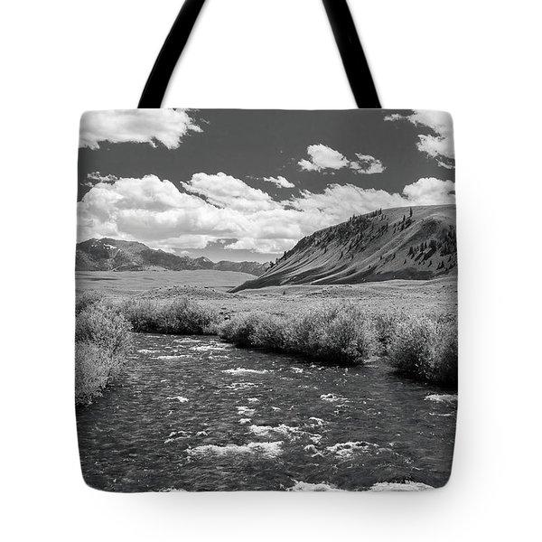West Fork, Big Lost River Tote Bag