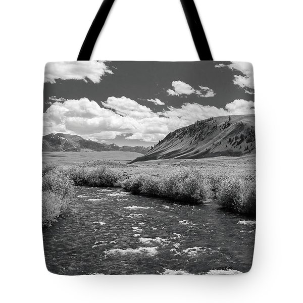 West Fork, Big Lost River Tote Bag