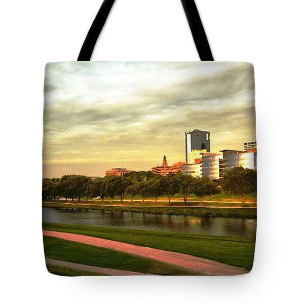 West Fork Trinity River Tote Bag