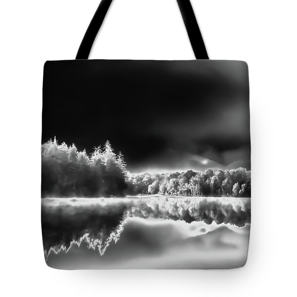 Tote Bag featuring the photograph West Lake Backlit by David Patterson