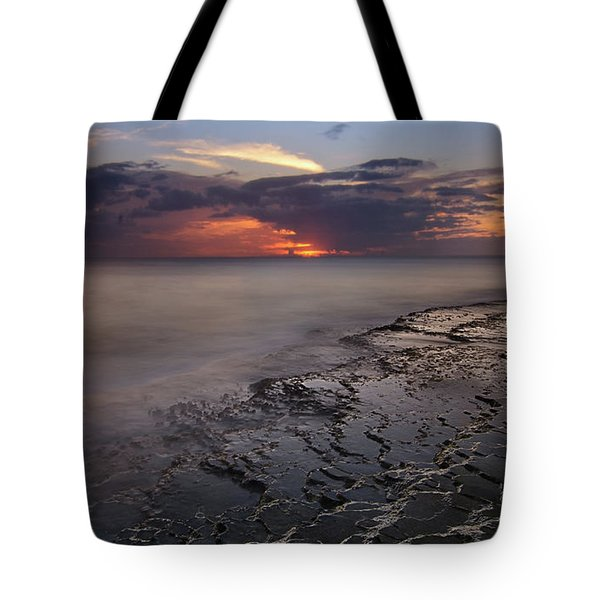 West Oahu Sunset Tote Bag