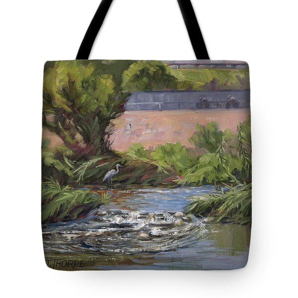 West Of Fletcher Bridge Tote Bag