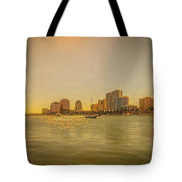 West Palm Serene Tote Bag