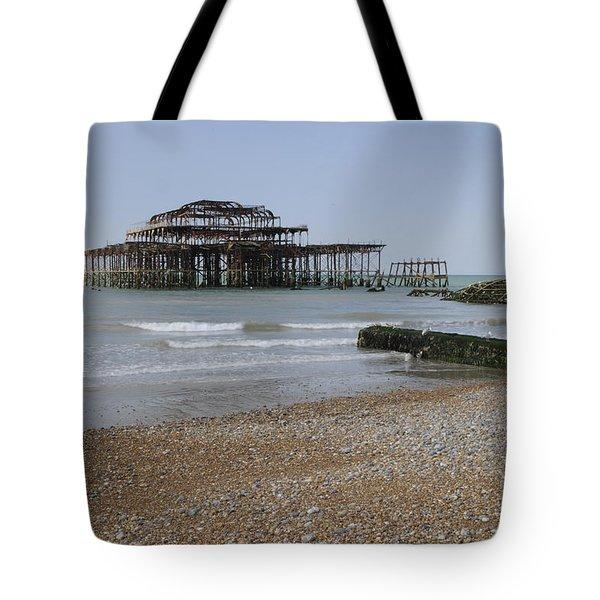 West Pier Tote Bag