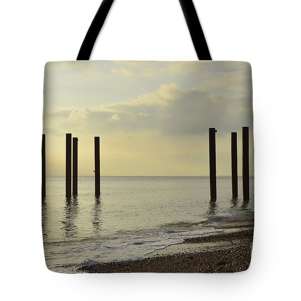 West Pier Supports Tote Bag