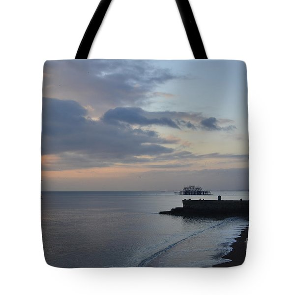 West Pier Views Tote Bag