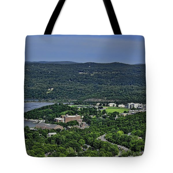 West Point From Storm King Overlook Tote Bag