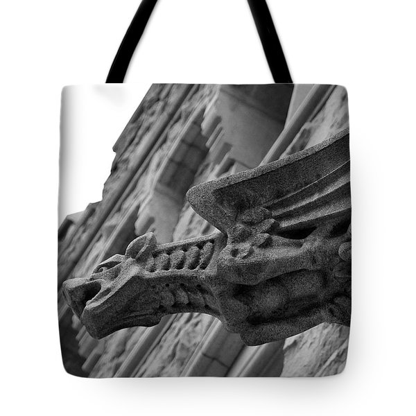 West Point Gargoyle Tote Bag