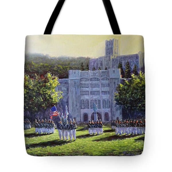 West Point Parade Tote Bag