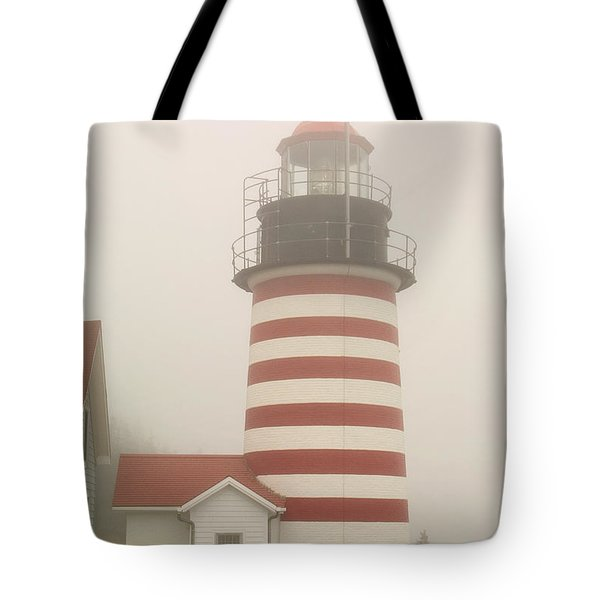 West Quody Head Lighthouse Tote Bag