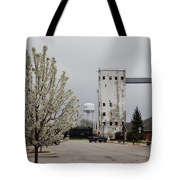 West Reed Street Tote Bag