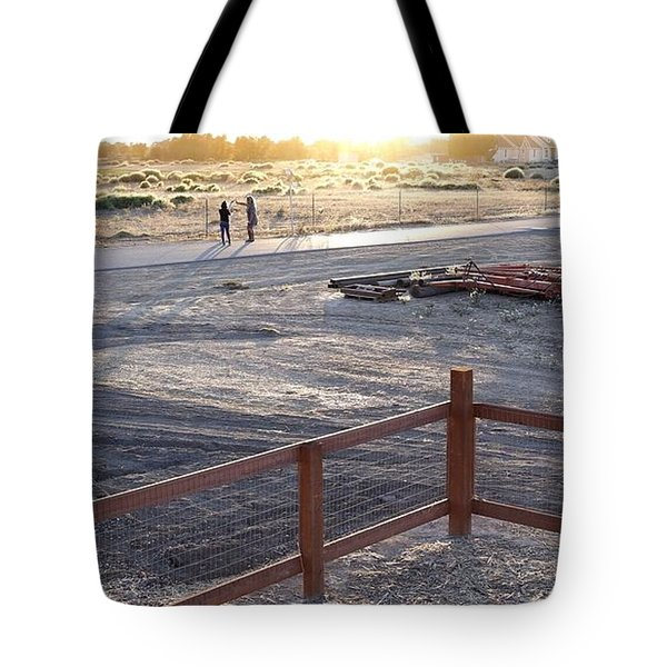 West Sacramento Farm Tote Bag