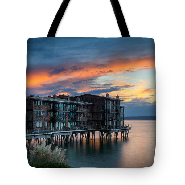 West Seattle Living Tote Bag