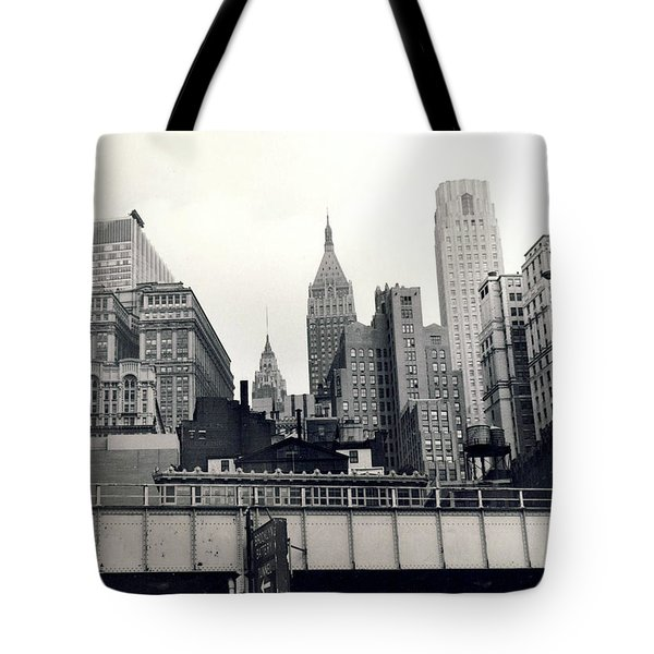 West Side Highway Tote Bag