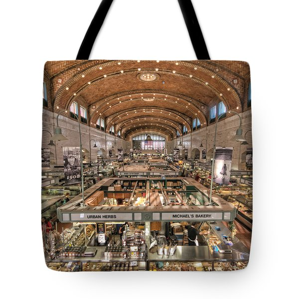 West Side Market Tote Bag