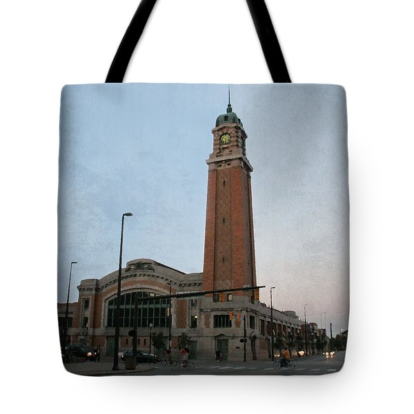 Tote Bag featuring the photograph West Side Market by Terri Harper