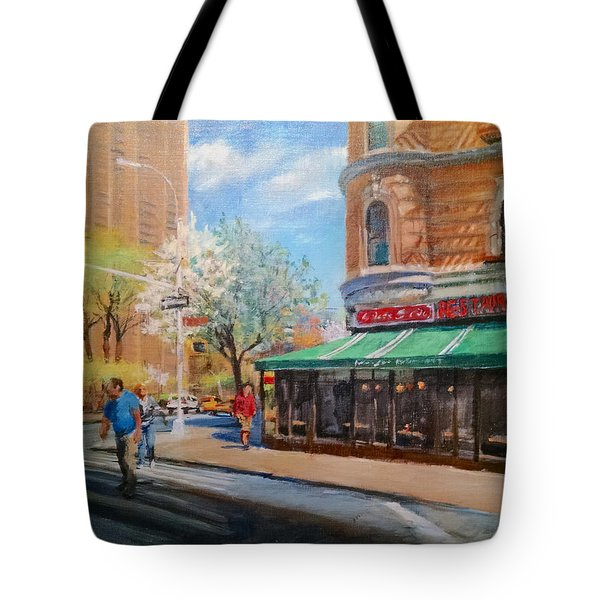 West Side Restaurant Tote Bag