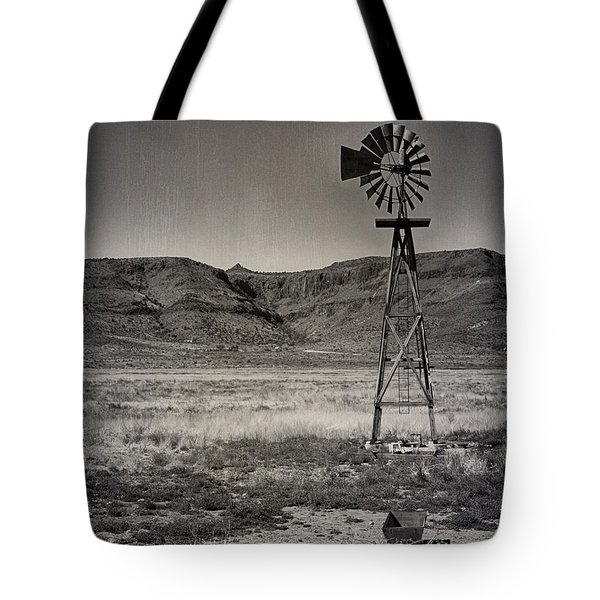 West Texas Ranch Scene Tote Bag