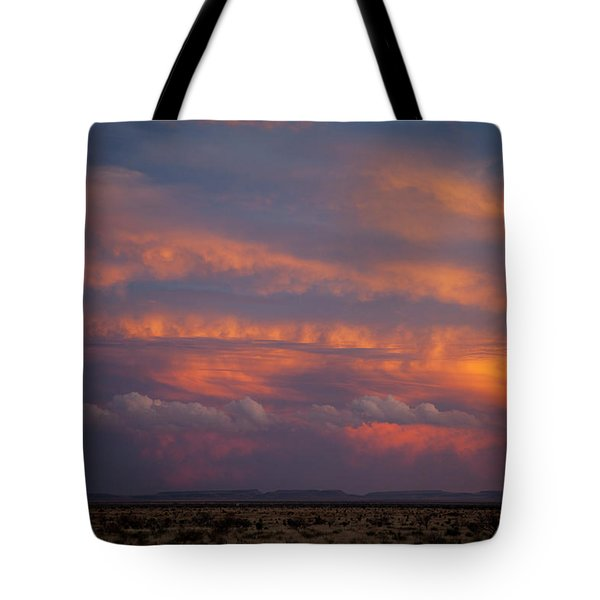 West Texas Sunset #1 Tote Bag