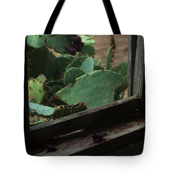 Tote Bag featuring the photograph West Texas View by Travis Burgess